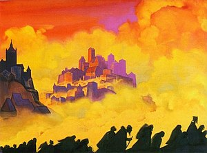 "Nicholas Roerich ""Armageddon"""
