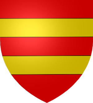 Lewis Harcourt, 1st Viscount Harcourt - Harcourt coat of arms: Gules, two Fesses Or.