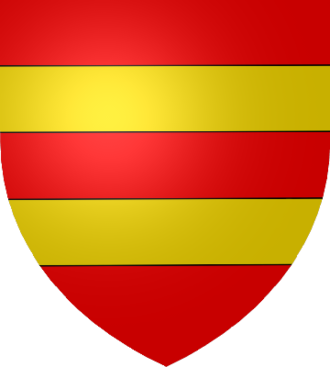 Viscount Harcourt - Harcourt coat of arms: Gules, two Fesses Or.
