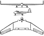 Armstrong Whitworth AW-52 3-view Les Ailes January 18, 1947.png
