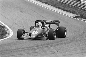 1983 Dutch Grand Prix - René Arnoux won the race for Ferrari.