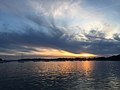 Arradon, Gulf of Morbihan, sunset.jpg