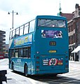 Arriva bus 7389 Scania N113 East Lancs Cityzen N389 OTY in Newcastle 9 May 2009 pic 2.jpg
