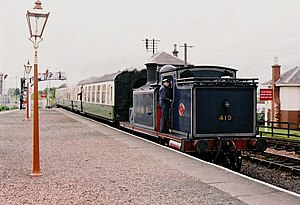 John F. McIntosh - Preserved Caledonian Railway 439 Class number 419 in June 2005