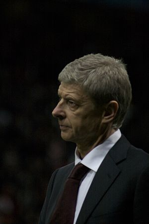 Battle of the Buffet - Arsène Wenger managed Arsenal to an unbeaten league season in 2003–04.