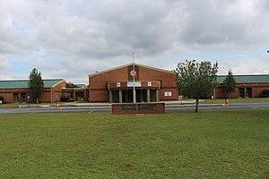 Wayne County School District (Georgia) - Image: Arthur Williams Middle School, Jesup 01