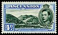 Ascension 1938 4p ultramarine Green Mountain.jpg