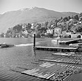 Ascona Motorboot met waterskiër op het meer, Bestanddeelnr 254-4854.jpg