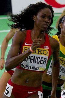 Ashley Spencer (athlete) American sprinter