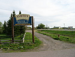 Ashton, Idaho.
