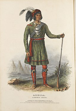Asseola, A Seminole Leader. (11088226445)