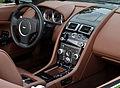 Aston Martin V8 Vantage Roadster (Facelift) – Innenraum, 26. Oktober 2012, Düsseldorf.jpg