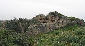 Ruine von Le Destroit, 2008