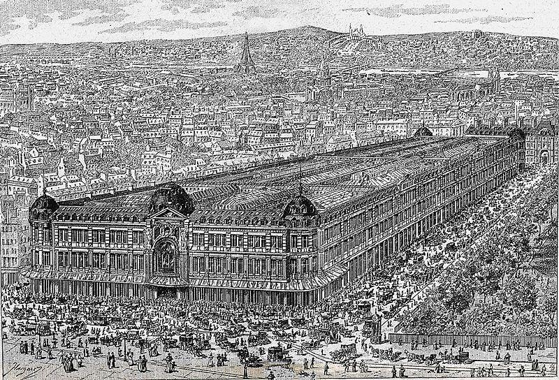 Fichier:Au Bon Marché (vue générale - gravure).jpg