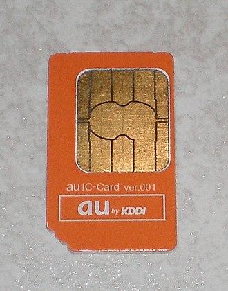 Removable User Identity Module - KDDI's au IC-Card