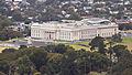 Auckland War Memorial Museum seen from the Sky Tower.jpg