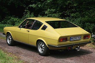 Audi 100 Coupé S - Image: Audi 100 C1 Coupé Heck (2008 07 12) ret