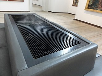 Humidifier - Humidifier in an art museum in Augsburg, Germany
