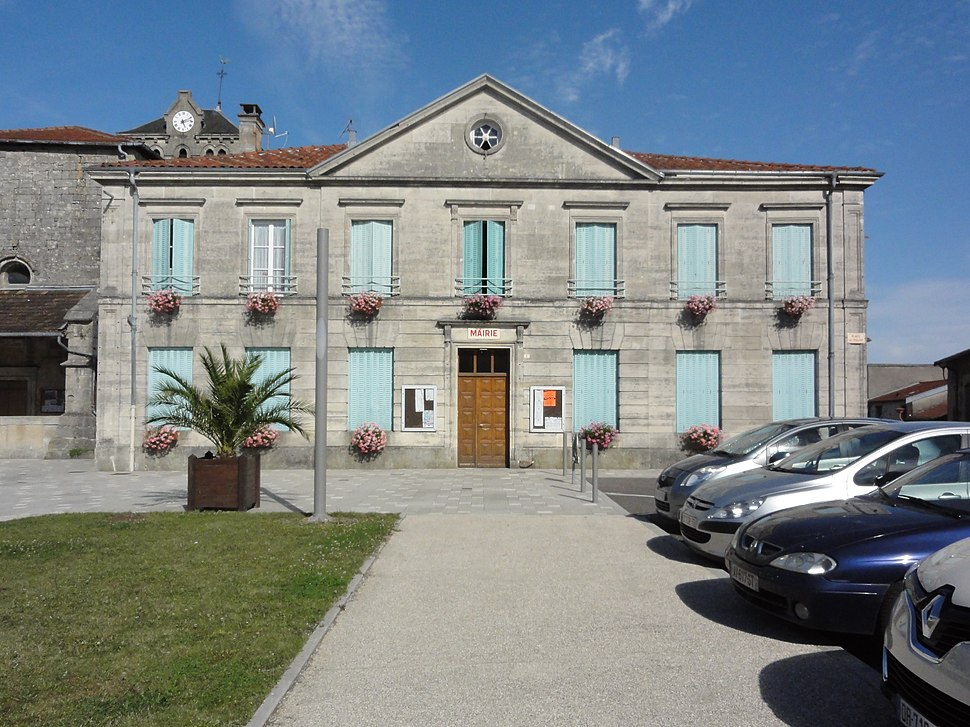 The town hall in Aulnois-en-Perthois