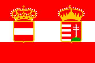 1st Army (Austria-Hungary) - War Ensign of Austria-Hungary