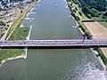 Autobahnbrücke Leverkusen A1 Stau (18497344268).jpg