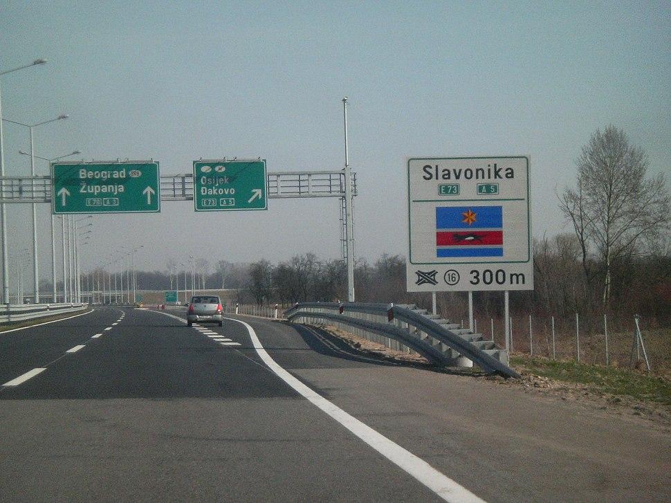 Autocesta A5 Hrvatska 001