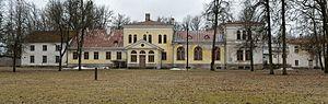 Fyodor Litke - Admiral v. Lütke's manor in Avanduse, present-day Estonia