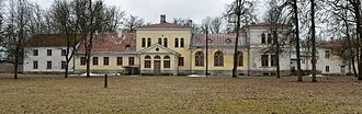 Friedrich von Lütke - Admiral v. Lütke's manor in Avanduse, present-day Estonia