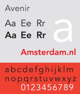 Avenir (typeface) Typeface