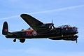 Avro Lancaster - Shuttleworth Military Pageant 2013 (16379209394).jpg