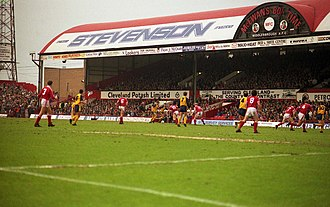 Ayresome Park - Image: Ayresome Park in 1991 geograph.org.uk 2796728