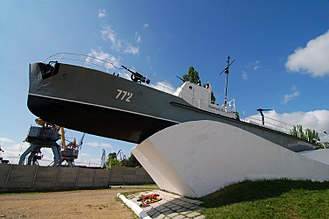 Azov Flotilla - Monument to the Azov Flotilla's part in the defence of Taganrog during the Second World War.
