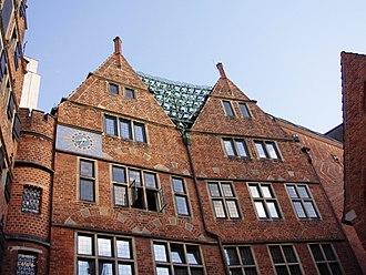 New Classical architecture - 1920s regionalist architecture: Böttcherstraße, Bremen, Germany