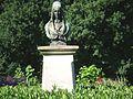 Büste von Anette von Droste-Hülshoff im Park der Wasserburg Hülshoff, ihrem Geburtsort.jpg
