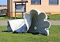 Břasy, municipal office, sculpture.jpg