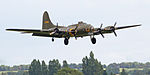 B-17G-105 Flying Fortress coming into land (5942453495).jpg
