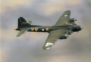 "306th Flying Training Group - B-17F Flying Fortress AAF 42-25744 ""Dollie Madison"" of the 369th Bomb Squadron. This aircraft returned to the United States on 2 November 1943"