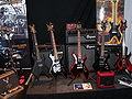 B.C. Rich & Bogner amps @ FUZZ Guitar Show 2009.jpg