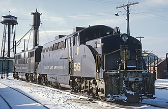 Bangor and Aroostook Railroad - Image: BAR 56 at Northern Maine Junction (22263759248)
