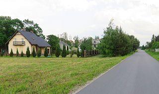 Bolesławek Village in Masovian Voivodeship, Poland