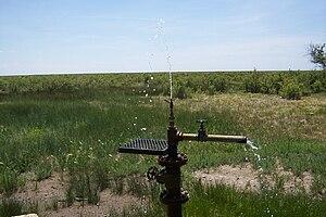 Baca National Wildlife Refuge - Image: Baca Flowing Well