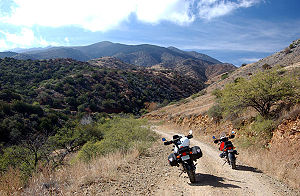 "Mount Lemmon - Unpaved road on the north or ""backside"" of Mount Lemmon"