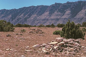National Register of Historic Places listings in Big Horn County, Wyoming - Image: Bad Pass Trail MT NPS