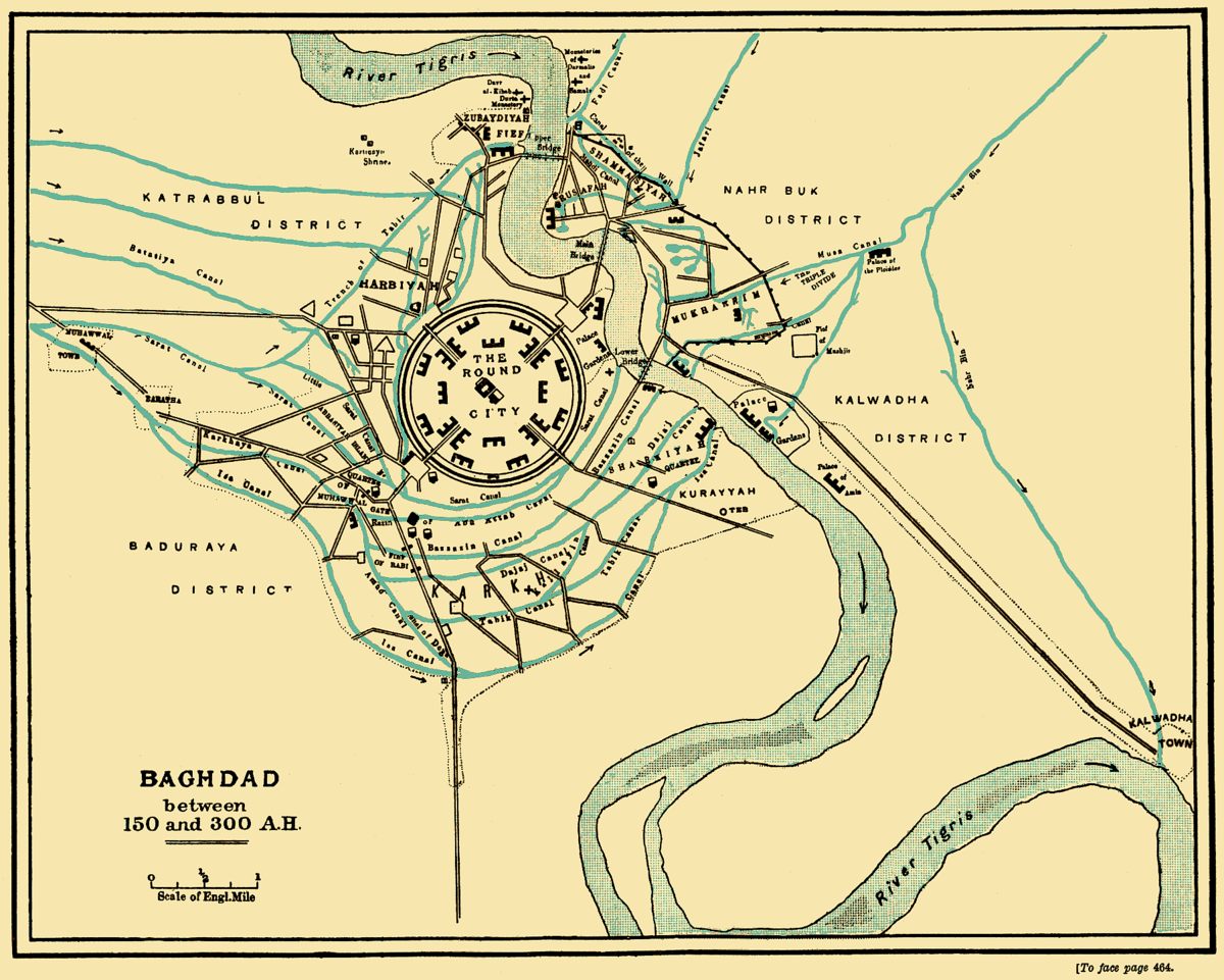 Round city of Baghdad Wikipedia