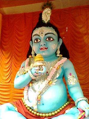 Gopal (Krishna) - The infant version of Shri Krishna Bala Gopala.