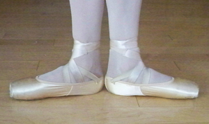 Positions of the feet in ballet - First position