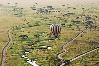 Mara Region - Balloon safari in the Serengeti National Park