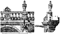 Balustrad från slottet St Germain 1500-talet, Nordisk familjebok.png