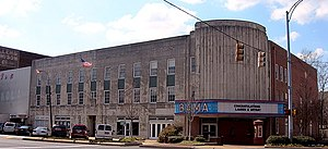 Bama Theatre - The theater in 2010
