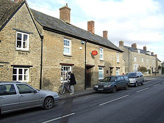 Bampton, Oxfordshire - The former Bampton Post Office, now a private house